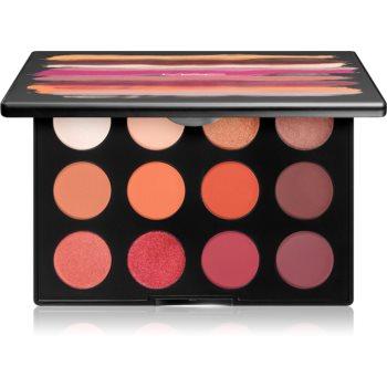 MAC Cosmetics Art Library: Flame-Boyant paleta farduri de ochi notino poza