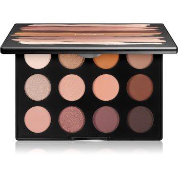 MAC Cosmetics Art Library: Nude Model paleta farduri de ochi notino poza