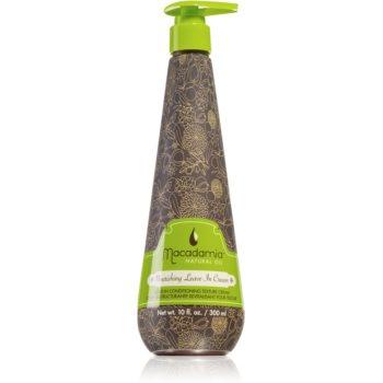 Macadamia Natural Oil Nourishing balsam hrănitor fără clătire pentru toate tipurile de păr imagine 2021 notino.ro