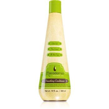Macadamia Natural Oil Smoothing balsam cu efect de netezire pentru toate tipurile de păr imagine 2021 notino.ro