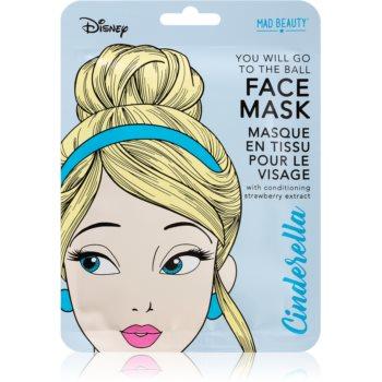 Mad Beauty Disney Princess Cinderella Mască de iluminare și revitalizare notino.ro