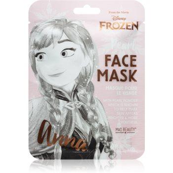 Mad Beauty Frozen Anna mască textilă iluminatoare imagine 2021 notino.ro