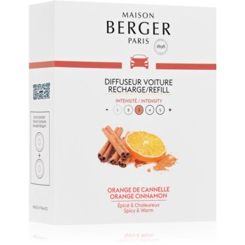 Maison Berger Paris Car Orange Cinnamon parfum pentru masina Refil