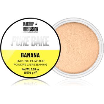 Makeup Obsession Pure Bake pudra pulbere matifianta notino.ro