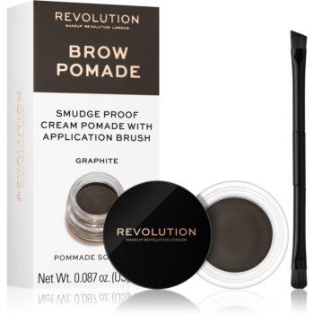 Makeup Revolution Brow Pomade Spancene Pomada notino.ro