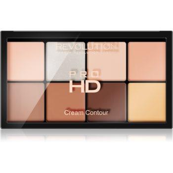 Makeup Revolution Ultra Pro HD Fair Paletă cremă pentru conturul feței imagine 2021 notino.ro
