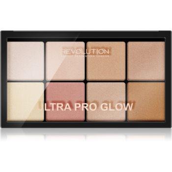 Makeup Revolution Ultra Pro Glow paleta luminoasa imagine 2021 notino.ro