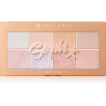 Makeup Revolution Soph X paleta luminoasa imagine 2021 notino.ro