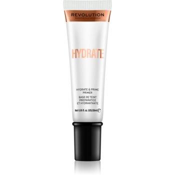 Makeup Revolution Hydrate baza hidratantă de machiaj imagine 2021 notino.ro