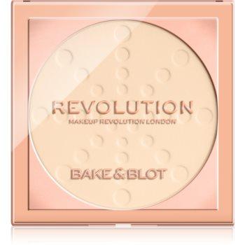 Makeup Revolution Bake & Blot pudra de fixare notino.ro