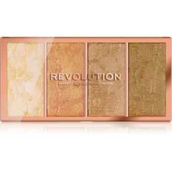 Makeup Revolution Vintage Lace paletă de iluminatoare imagine 2021 notino.ro