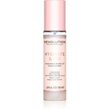 Makeup Revolution Hydrate & Fix fixator make-up imagine 2021 notino.ro