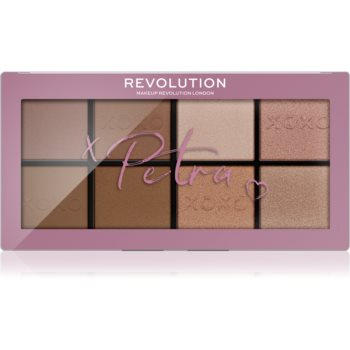 Makeup Revolution X Petra XOXO paletă de farduri pentru obraji imagine 2021 notino.ro