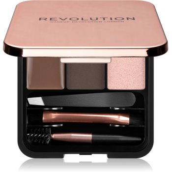 Makeup Revolution Brow Sculpt Kit set pentru sprancene perfecte imagine 2021 notino.ro