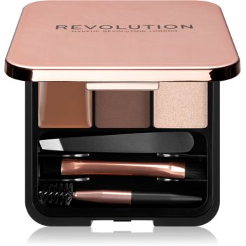 Makeup Revolution Brow Sculpt Kit set pentru sprancene perfecte notino.ro