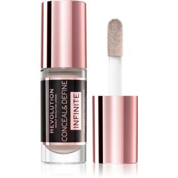 Makeup Revolution Infinite corector pentru reducerea imperfecțiunilor imagine 2021 notino.ro