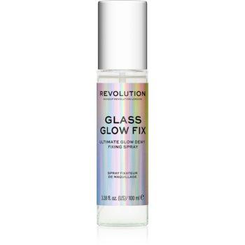 Makeup Revolution Glass spray pentru fixare și strălucire imagine 2021 notino.ro