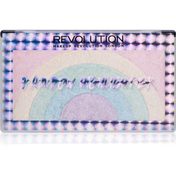 Makeup Revolution Rainbow iluminator imagine 2021 notino.ro