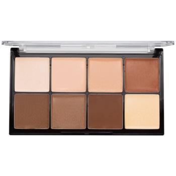Makeup Revolution Ultra Pro HD Light Medium Paletă cremă pentru conturul feței imagine 2021 notino.ro