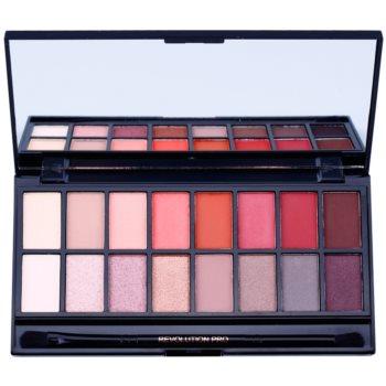 Makeup Revolution New-Trals vs Neutrals paleta farduri de ochi cu oglindă si aplicator imagine 2021 notino.ro