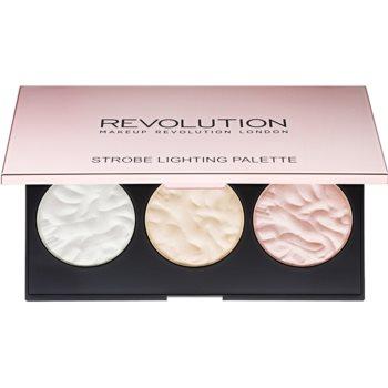 Makeup Revolution Strobe Lighting paleta luminoasa imagine 2021 notino.ro