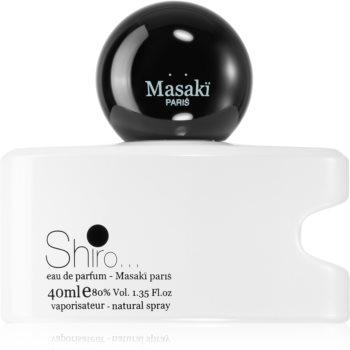 Masaki Matsushima Shiro Eau de Parfum pentru femei imagine 2021 notino.ro
