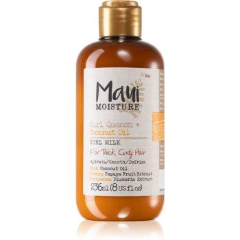 Maui Moisture Curl Quench + Coconut Oil lapte hidratant pentru par ondulat si cret imagine 2021 notino.ro