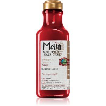 Maui Moisture Strength & Anti-Breakage + Agave balsam pentru indreptare pentru par degradat sau tratat chimic imagine 2021 notino.ro