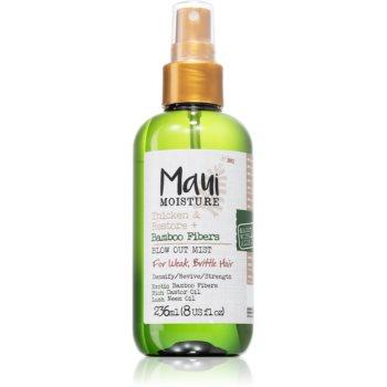 Maui Moisture Thicken & Restore + Bamboo Fibers tonic spray pentru par fin imagine 2021 notino.ro