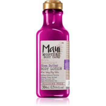 Maui Moisture Extra Hydrating + Shea Butter lotiune hidratanta intens pentru pielea extrem de uscata imagine 2021 notino.ro
