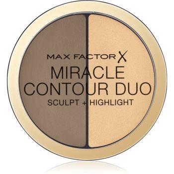 Max Factor Miracle Contour Duo auto-bronzant cremos și iluminator imagine 2021 notino.ro