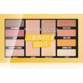 Maybelline Lemonade Craze paleta farduri de ochi notino.ro