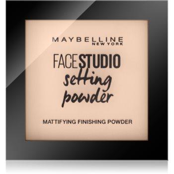 Maybelline Face Studio pudra matuire pentru toate tipurile de ten notino.ro