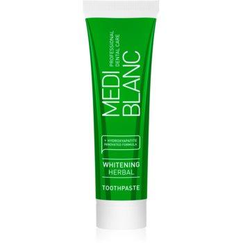 MEDIBLANC Whitening Herbal pastă de dinți cu extract din plante cu efect de albire imagine 2021 notino.ro