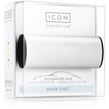 Millefiori Icon Silver Spirit parfum pentru masina Classic
