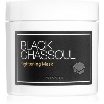Missha Black Ghassoul mască facială cu efect de lifting pentru a strânge porii imagine 2021 notino.ro