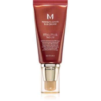 Missha M Perfect Cover crema BB cu o protectie UV ridicata imagine 2021 notino.ro