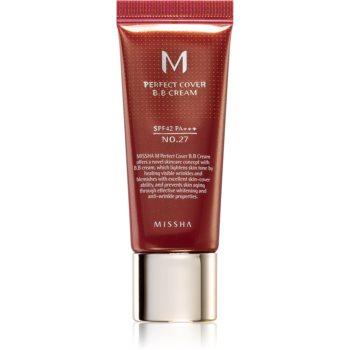 Missha M Perfect Cover crema BB cu protectie ridicata si filtru UV pachet mic imagine 2021 notino.ro