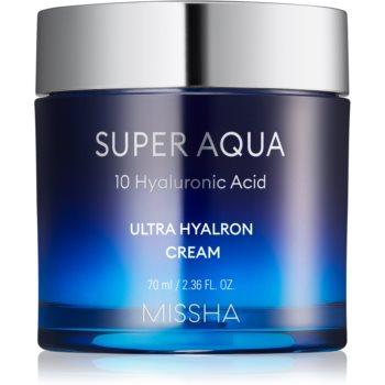 Missha Super Aqua 10 Hyaluronic Acid crema de fata hidratanta notino poza