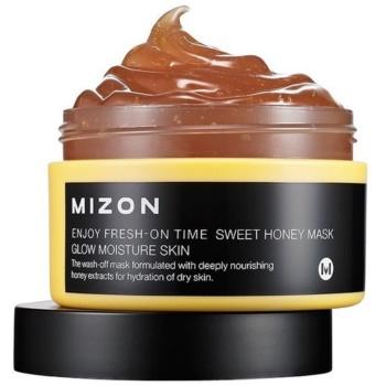 Mizon Enjoy Fresh-On Time mască hidratantă iluminatoare, cu miere pentru tenul uscat notino.ro