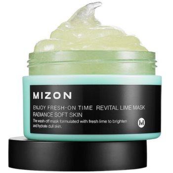 Mizon Enjoy Fresh-On Time mască revitalizantă cu lămâie verde, pentru pielea lăsată notino.ro