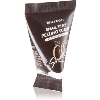 Mizon Snail Silky Peeling Scrub exfoliant facial cu extract de melc imagine 2021 notino.ro
