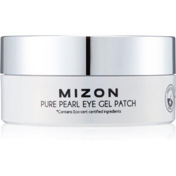 Mizon Pure Pearl Eye Gel Patch masca hidrogel pentru ochi impotriva ridurilor si a cearcanelor intunecate image0