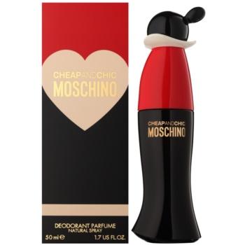 Moschino Cheap & Chic deodorant spray pentru femei 50 ml