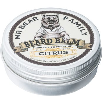 Mr Bear Family Citrus balsam pentru barba imagine 2021 notino.ro