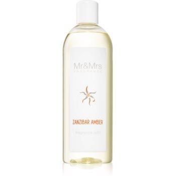 Mr & Mrs Fragrance Blanc Zanzibar Amber reumplere în aroma difuzoarelor