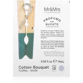 Mr & Mrs Fragrance Laundry Cotton Bouquet parfum concentrat pentru mașina de spălat notino.ro