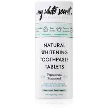 My White Secret Toothpaste Tablets pasta de dinti pentru albire imagine 2021 notino.ro