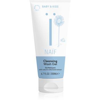 Naif Baby & Kids gel pentru spălarea și curățarea copiilor și a bebelușilor imagine 2021 notino.ro