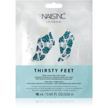 Nails Inc. Thirsty Feet masca hidratanta pentru picioare imagine 2021 notino.ro